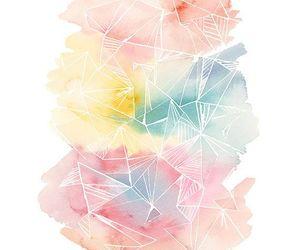 watercolour colour pastel image