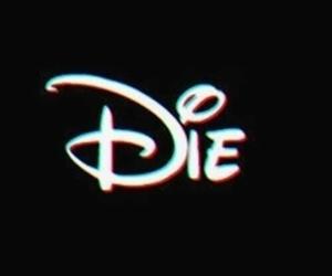 die, disney, and black image