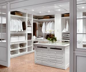 closet, white, and house image