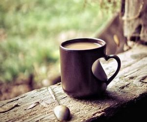 coffee, cup, and heart image