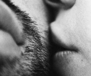 kiss and couple image