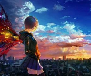 anime, anime girl, and ghoul image