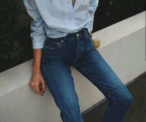 blue jeans, fashion, and style image