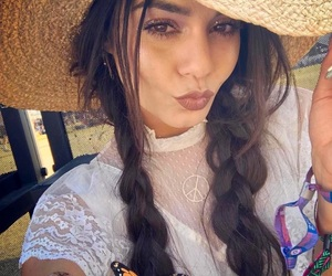 vanessa hudgens, coachella, and braids image