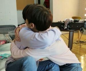 couple, hug, and kpop image