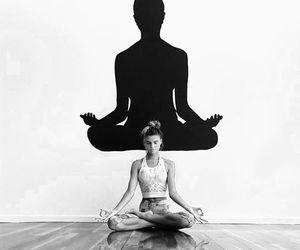 meditation, breath, and fitness image