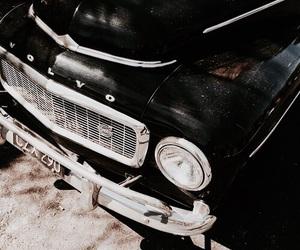 black, dark, and car image
