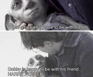 harry potter, dobby, and dobby death image