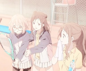 kyoukai no kanata, anime, and cute image