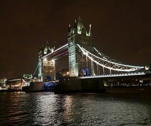 bridge, london, and tower image