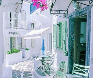 white and Greece image