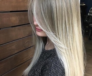blonde hair, hair style, and hair color image
