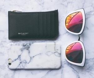 iphone, sunglasses, and fashion image