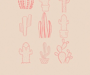 background, love, and cactus image