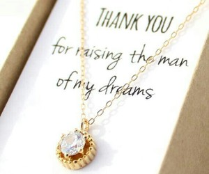 wedding, necklace, and gift image