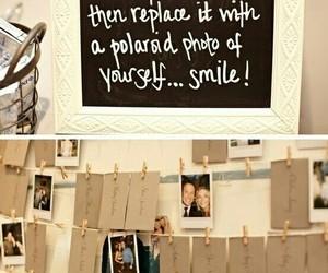 wedding, polaroid, and photo image