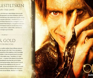 once upon a time and mr. gold image