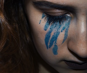 blue, face, and girl image