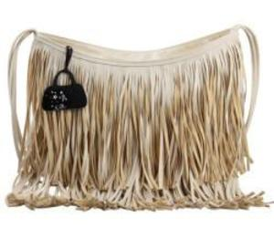 hippie, 70's style, and fringed hand bag image