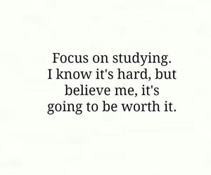 study, quotes, and school image