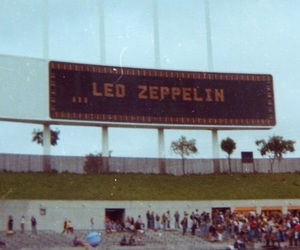led zeppelin, concert, and band image