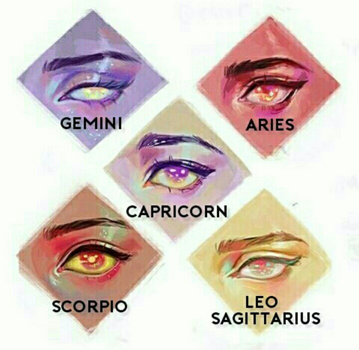 aquarius eyes astrology