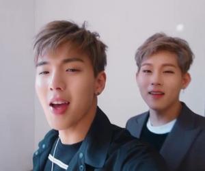 kpop, minhyuk, and i.m image