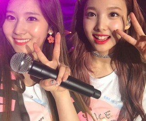 twice, sana, and nayeon image