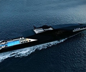 black and yacht image