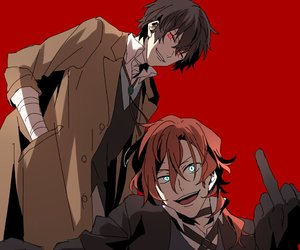 anime, boy, and chuuya image