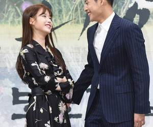 iu and kang ha-nael image