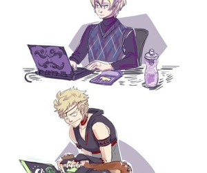 Leo, video games, and odin image