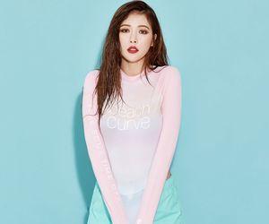 beauty, kpop, and kim hyuna image