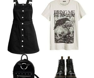 blablabla, bmth, and clothes image