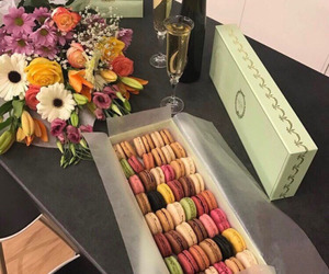 food, flowers, and yummy image