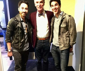 bill nye the science guy, darren criss, and criss colfer image