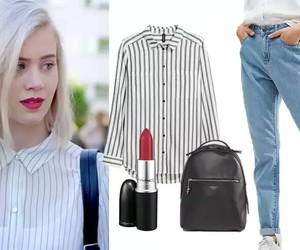 outfit, skam, and noorasaetre image
