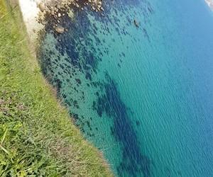 blue, sea, and balchik image