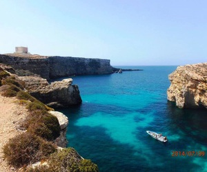gozo, sea, and travel image