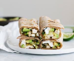 avocado, healthy, and burritos image