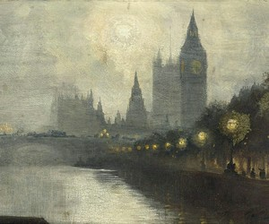 art, london, and painting image
