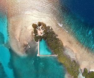 beach, puerto rico, and isla del encanto image