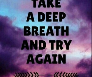 motivation, quotes, and try image
