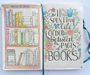bullet journal, book, and ideas image