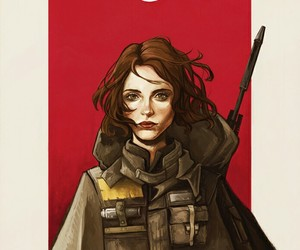 star wars and jyn erso image