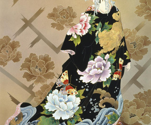 art, courtesan, and Japanese Culture image