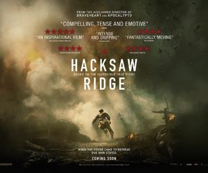 2016, movies, and hacksaw ridge image