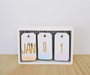 diy, calendar, and do it yourself image