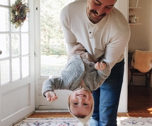 dad, cute, and kid image