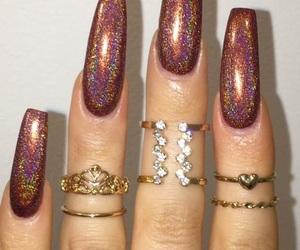 nail polish, nail design, and 💅 image